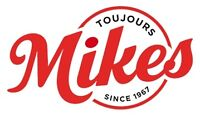 RESTAURANT MIKES NEED DELIVERY DRIVER AND COOK
