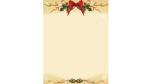 St. James Christmas Design Bond Traditional Harmony Paper-new