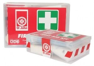 FIRST AID ST JOHN 80 PIECE KIT IN PLASTIC CASE (x1)