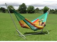 Mariposa metal hammock stand - As New