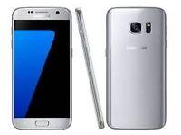 Samsung Galaxy S7 Smart Phone UK MODEL 32GB - PLATINUM SILVER Simfree Unlocked to any network