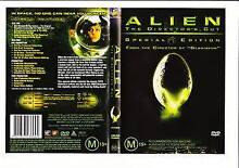 ALIEN THE DIRECTOR'S CUT SPECIAL EDITION DVD REGION 4 Point Cook Wyndham Area Preview