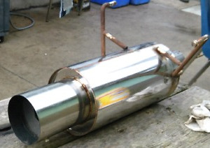 n1 canister style muffler universal