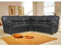 Candy sofa range 3+2/corner unit available in Black,Brown or Cream
