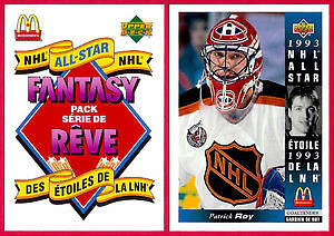 1993-94 Upper Deck McDonald's NHL Hockey Card Set