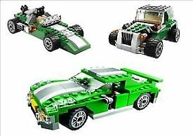 Lego creator Street speeder 3 in 1 set PLUS mini creator 3 in 1 construction set