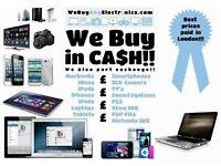 Wanted ££ I Buy IPhones /iPads /MacBooks /Laptops/SLR Cameras/ TVs