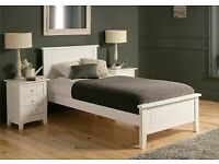 Single Bed - white