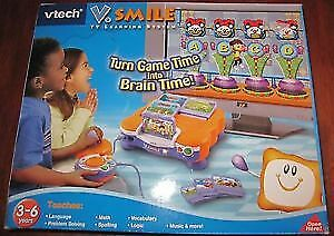 VTech V.Smile TV Learning System + games included