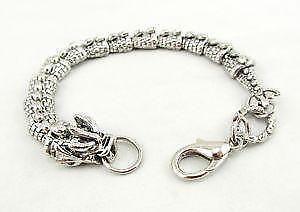 Silver Dragon Bracelets