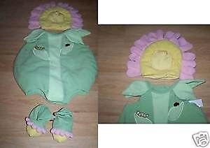 Gymboree Strawberry Baby Costume and TCP Flower Costume