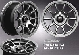 """Team dynamics pro race 1.2 with toyo r888r 13"""""""