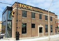Local Leaside hiring all BOH positions!