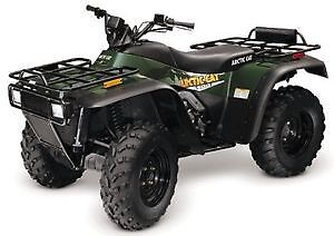 Looking for a 2000 500cc Arctic cat 4xWill pay cash no hassles. London Ontario image 1