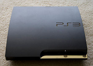 BLACK SLIM 120GB SONY PLAYSTATION 3