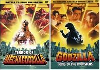 Godzilla King of the Monsters et Terror of Mechagodzilla. DVD.