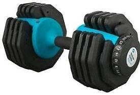 Men's Health adjutable Dial Dumbbell - Single - 25kg. Worth £220 New