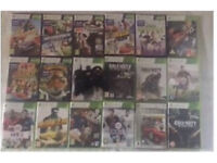 18x NEW Xbox 360 Games + Wireless Controller