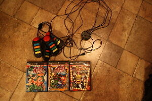 "PS2 Games and ""Buzz"" controllers"