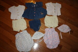 Girls size 6/9 month spring/summer clothes