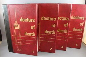 Rare DOCTORS OF DEATH 4 volume book set (used)