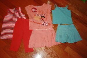 Lot 1 of size 6 girls spring/summer clothes