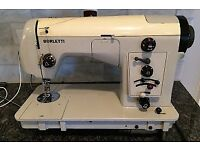 Borletti Vintage electric sewing machine 1102. with case.