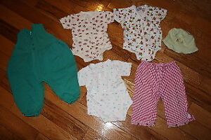 Baby girl size 12 month summer clothes