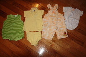 First lot of girls size 24 month spring/summer clothes.
