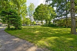 Large treed building lot, 662 King Street Mount Brydges