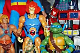 Wanted star Wars He man figures any other 80's toys and memorabilia