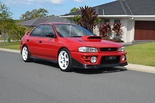 1998 Subaru Impreza WRX Sedan  2.5 Turbo Coomera Gold Coast North Preview