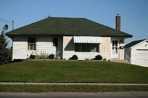 3 Bedroom bungalow with a large lot and garage
