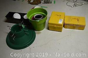 Gardening Pots And Sewing Supplies B