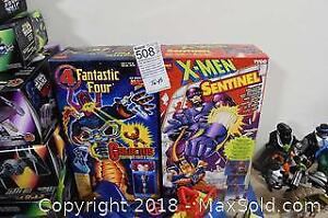 X-men And Fantastic Four Figures-A