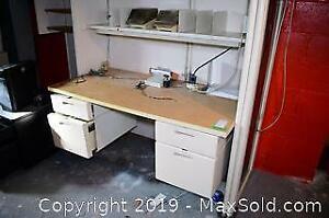Modular Commercial Office Desk - B