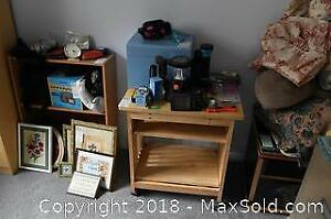Bookcase and Cart B