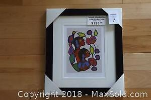 Native Ojibway Norval Morrisseau COSMIC CHILDREN 1 newly framed with COA