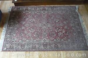 """Amara Antique"" Eaton's brand carpet. Needs cleaning. -A"
