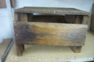 Homemade Wooden Bench - A