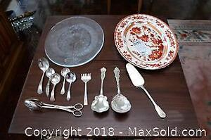 Spode And Silver plate And More! - A