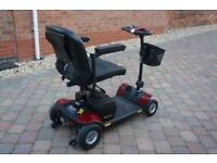 Pride Elite Traveller Plus 4 Mobility. Used only 3 short journeys. Offers in region of £450 .00