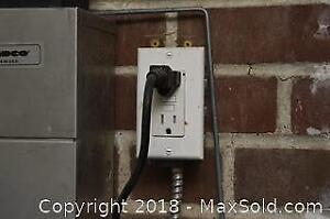 Plug And Light Switches In Garage C