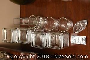 Glass Canisters A