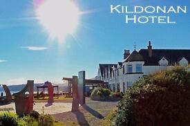 Live-In House Keeping position at The Kildonan Hotel Isle of Arran