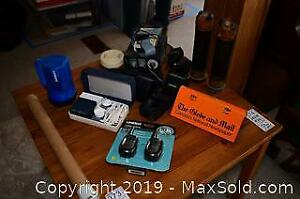 Two Way Radios, Binocular, Vintage CB Radio A