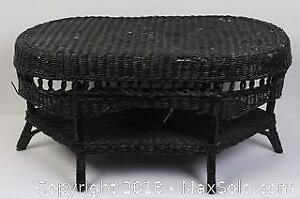 Vintage Wicker Coffee Style Table