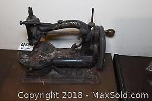 Vintage Sewing Machine B