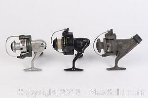 Lot of Spin Casting Reels Eagle Claw, Shakespeare Durango, and Zebco
