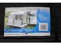 Kampa Rally Pro two tone grey in colour Awning never been used £365ono.